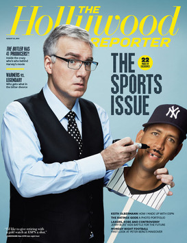 Keith Olberman-cover Hollywood Reporter