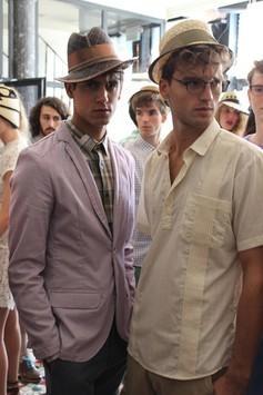 Sergio Davila Fashion show Fall 13