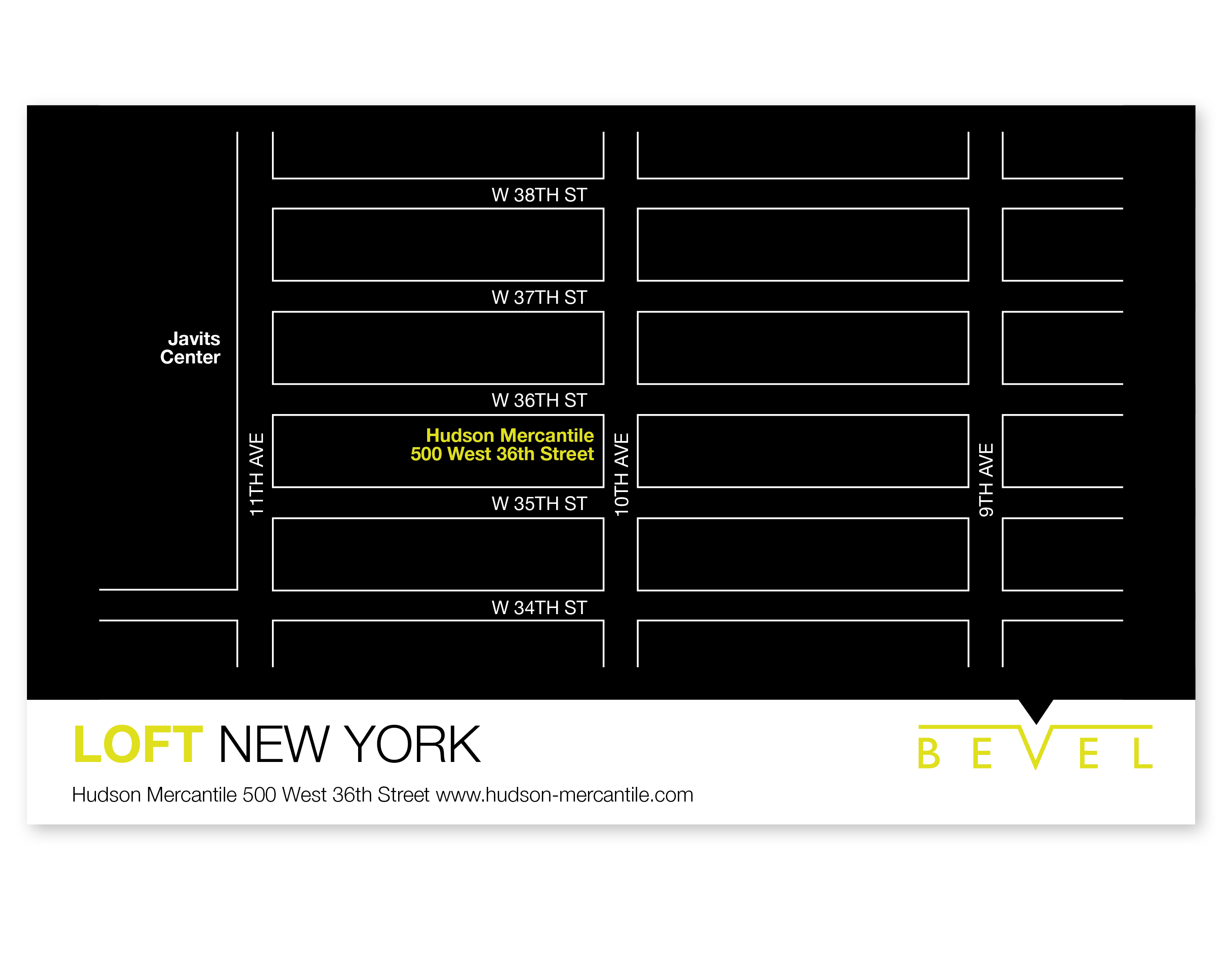 LOFT NY Map