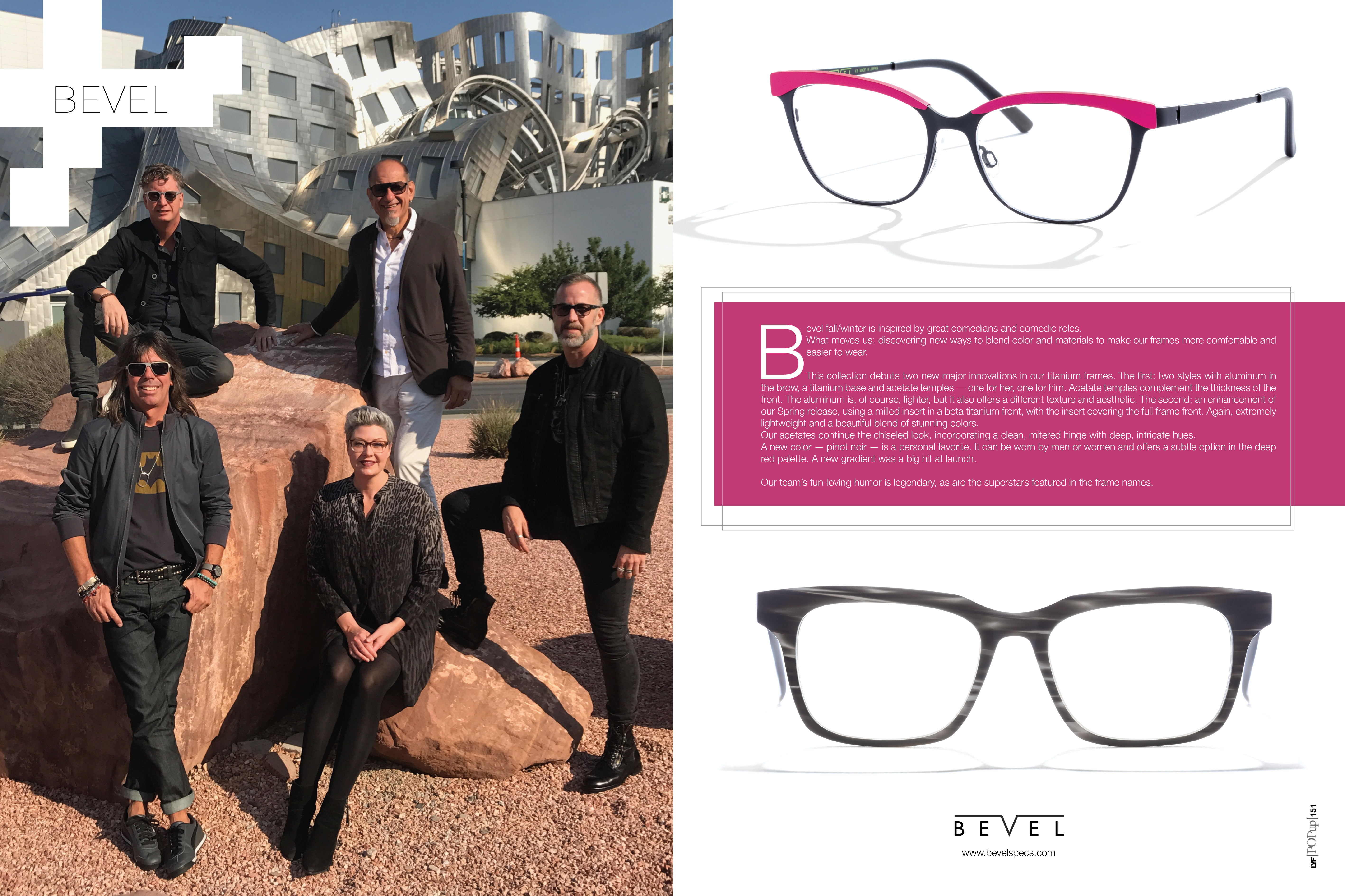 Bevel featured in LYF magazine